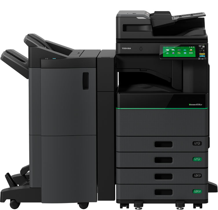 toshiba estudio 4508 eco printer Toshiba's Latest Eco Machine 4508lp