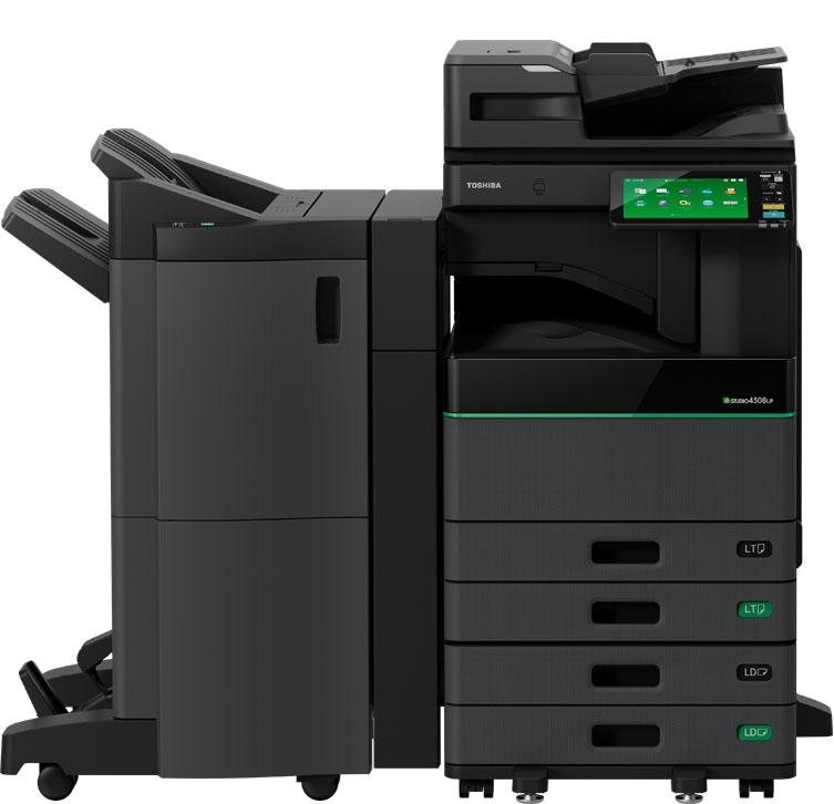 toshiba estudio 4508 eco printer Toshiba's Latest Eco Machine 4508lp